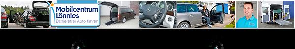 Mit dem Rollstuhl im Auto, als Selbstfahrer oder Mitfahrer - Möglichkeiten im behindertengerechten Fahrzeugumbau / Autoumbau durch das Mobilcentrum Lönnies