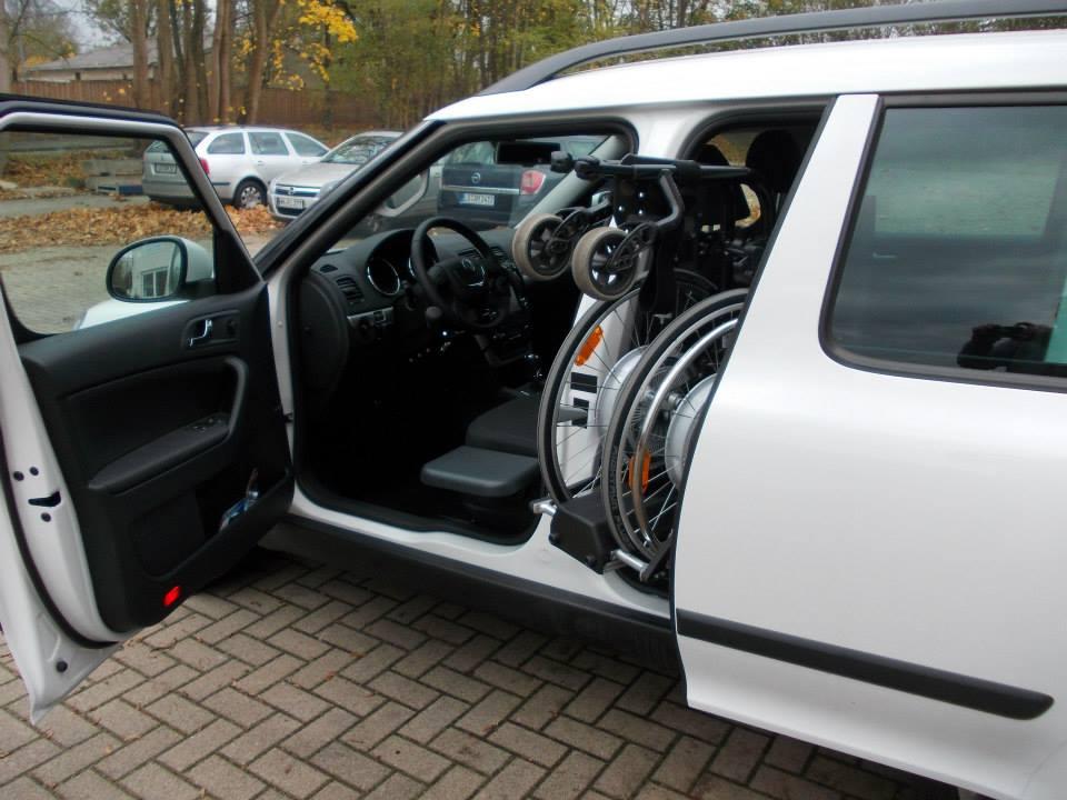 Referenz Behindertenfahrzeuge Skoda Spezialumbau F 252 R