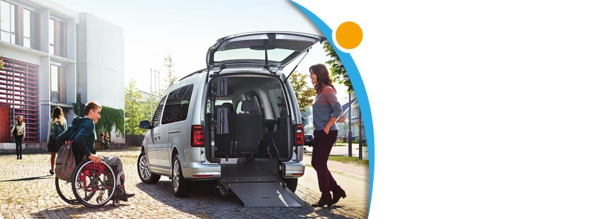 Rollstuhl Autoumbau - Fahrzeugumbau Kfz
